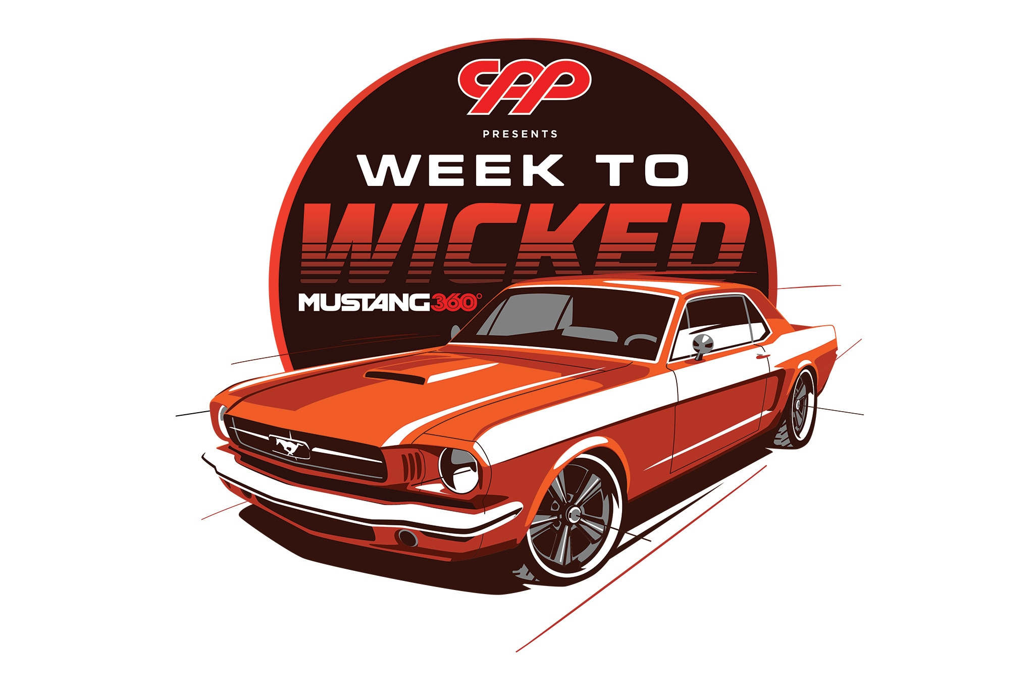 Mustang Monthly Week To Wicked Paint W2Wlogo