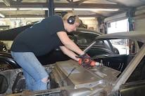 1965 Ford Mustang Project Road Warrior Quarter Panel Rust Repair 08
