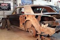 1965 Ford Mustang Project Road Warrior Quarter Panel Rust Repair 12