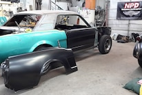1965 Ford Mustang Project Road Warrior Quarter Panel Rust Repair 09