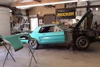 1965 Ford Mustang Project Road Warrior Quarter Panel Rust Repair 04