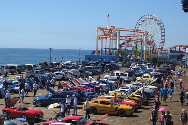 2015 Lasaac Tony Sousa Memorial Car Show Santa Monica Pier 01