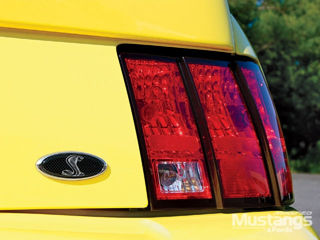 2003 Mustang Cobra Rear Lights