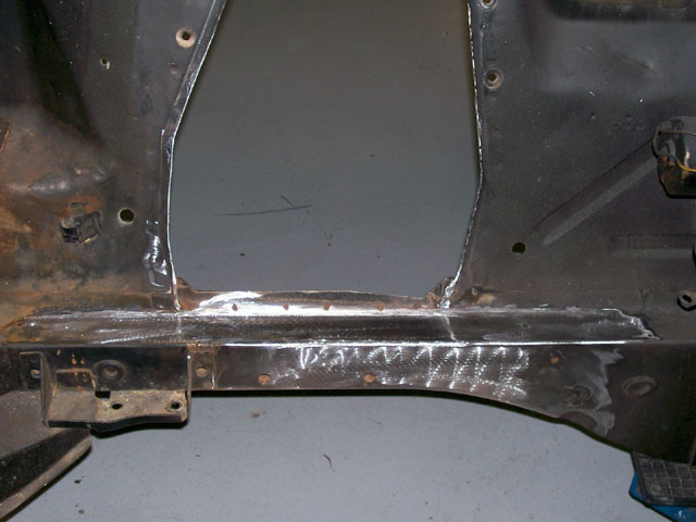 Tci Suspension After Weld