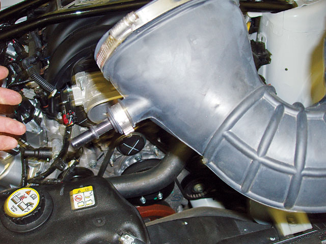 Colr Air Removing Intake