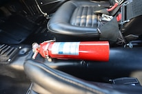 1965 Ford Mustang Fire Extinguisher