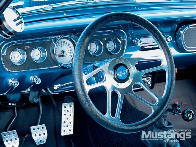 1966 Mustang Fastback Steering Wheel