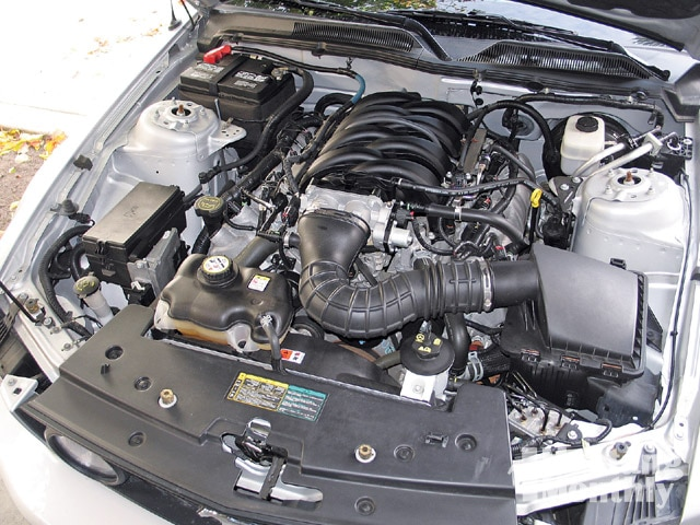 Mump 0903 04 Z 2006 Ford Mustang Gt Stock Engine