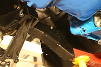 007 Frankie Waters 1967 Ford Mustang Steering Coilover Passenger Rack Braket
