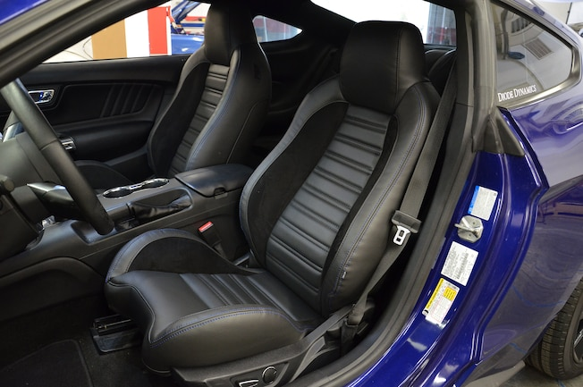 001 TMI S550 Seats