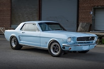 1966 Ford Mustang Front Side View