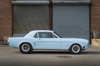 1c 1966 Ford Mustang Side View