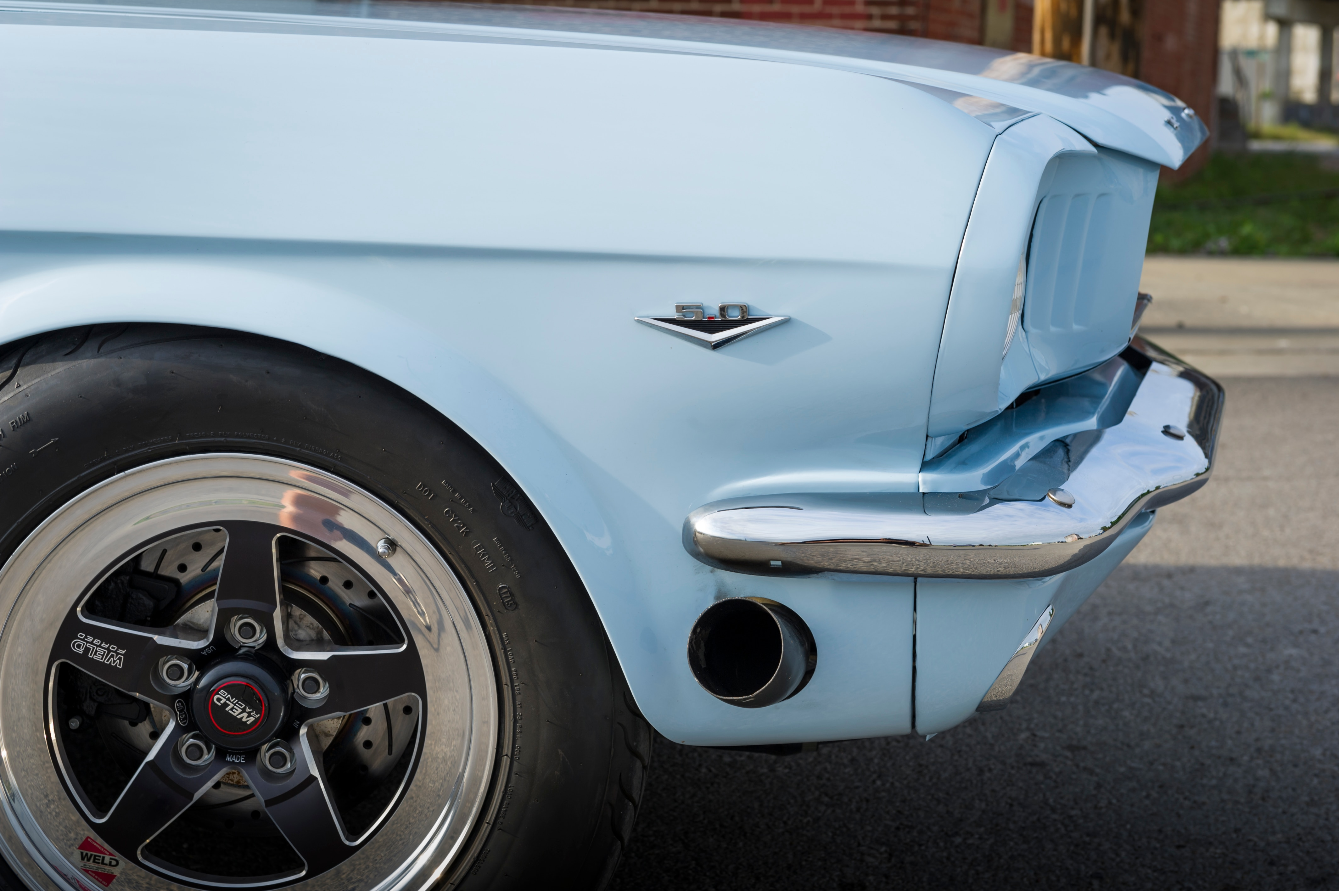 2 1966 Ford Mustang Wheel