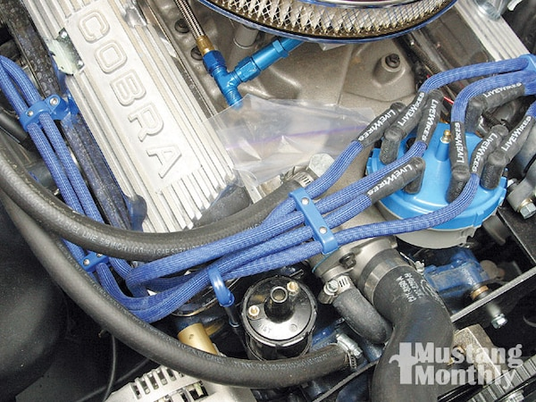 How To Install Spark Plug Wire Loom Holders Photo & Image ... Installing Spark Plug Wires on installing ignition coil, installing pistons, installing camshaft,