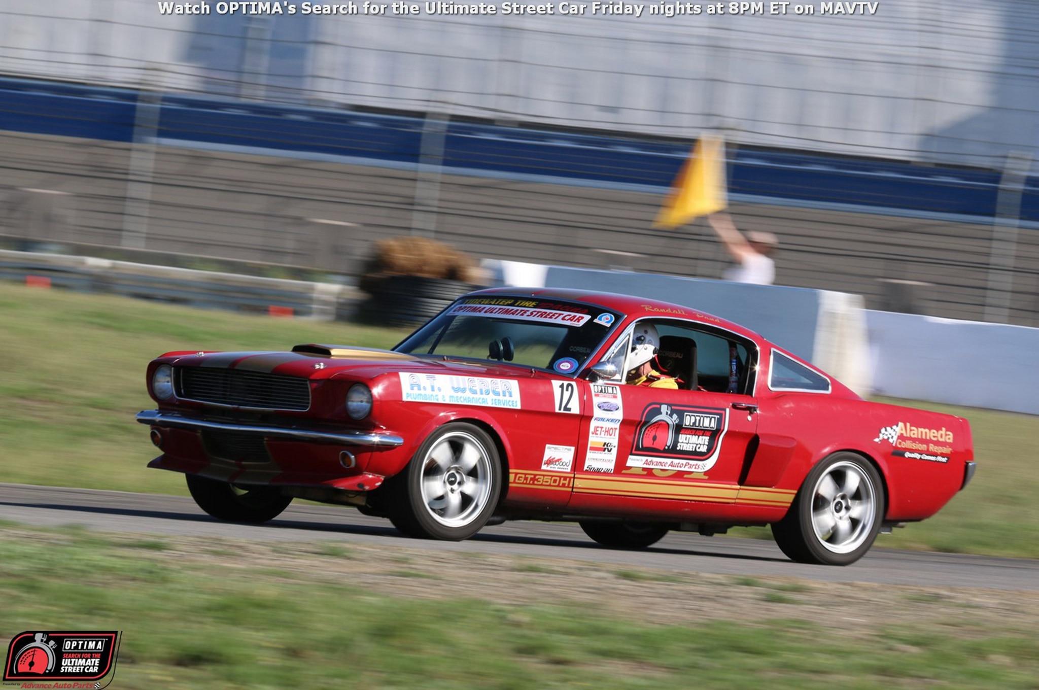 Randall Pond 1966 Shelby Mustang Drive OPTIMA Fontana 2015 47