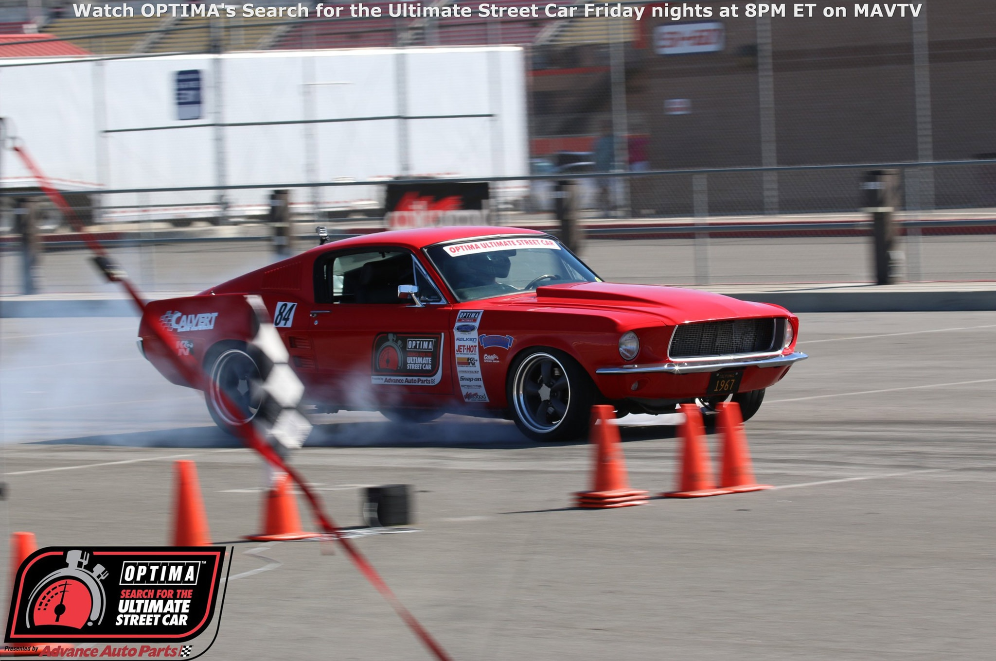 John Anthony 1967 Ford Mustang Drive OPTIMA Fontana 2015 524