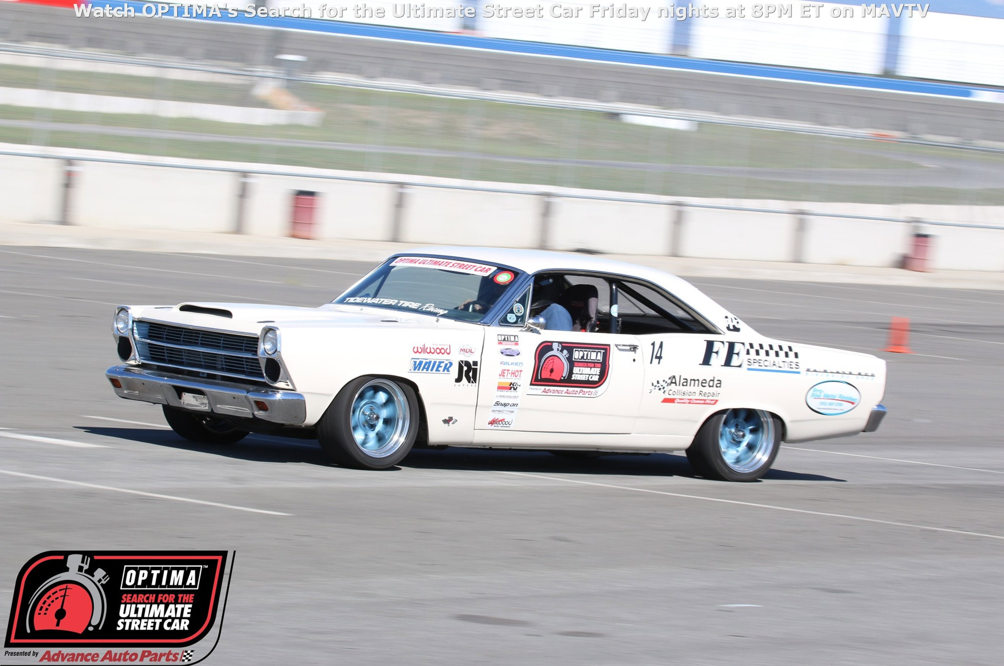 John McKissack 1966 Ford Fairlane Drive OPTIMA Fontana 2015 749