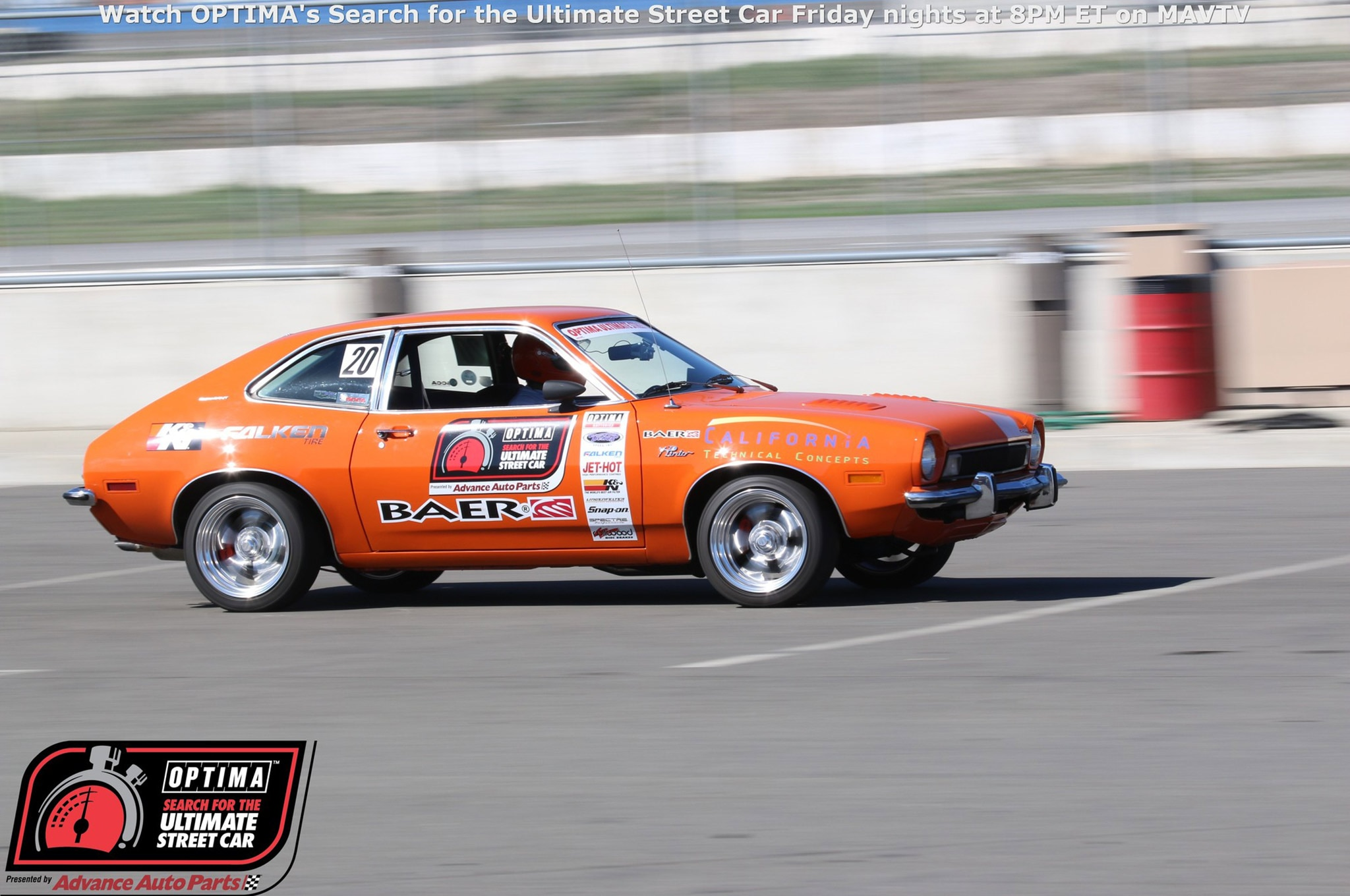 Joe Escobar 1974 Ford Pinto Drive OPTIMA Fontana 2015 823