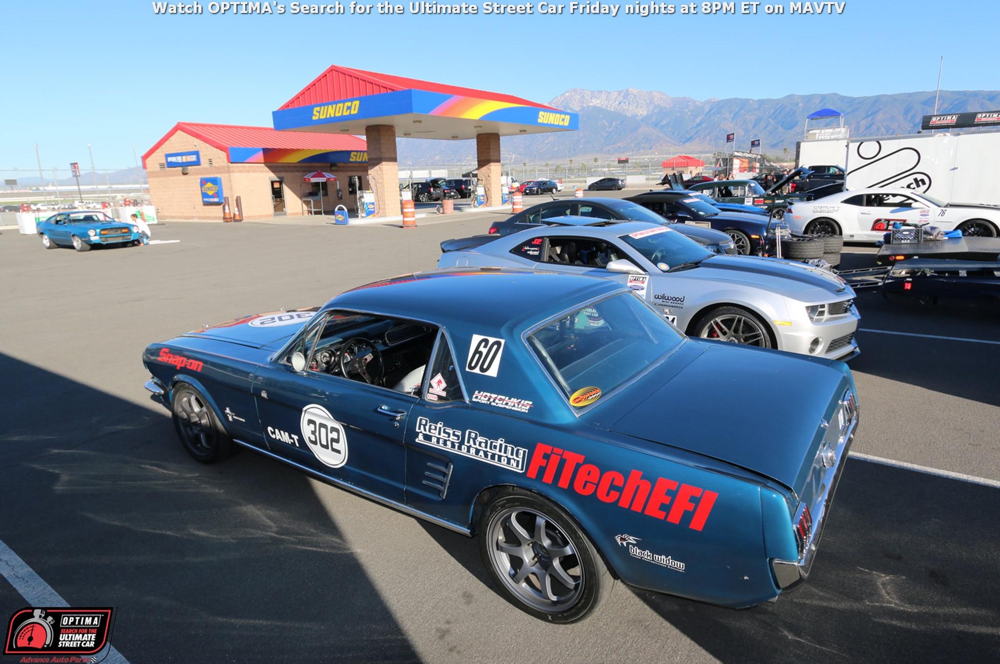 Ian Sakurai 1966 Ford Mustang Drive OPTIMA Fontana 2015 21