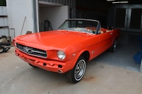 1 1965 Ford Mustang Side View