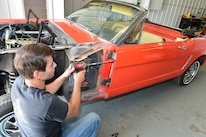 17 1965 Ford Mustang Door Assembly