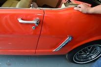 21 1965 Ford Mustang Rear Quarter Panel