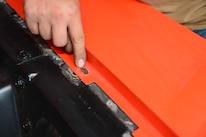 25 1965 Ford Mustang Oblong Holes Fender
