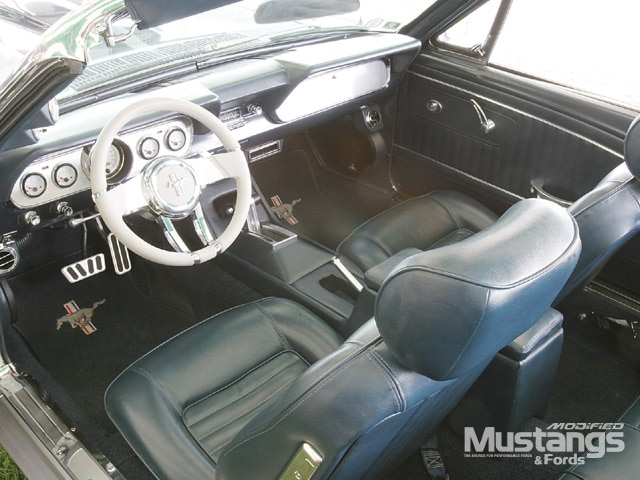 1966 Ford Mustang Gt Convertible Interior