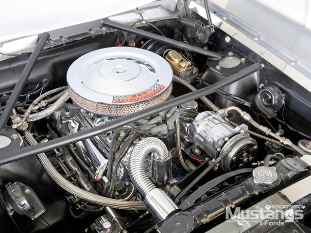 1966 Ford Mustang Gt Convertible Engine