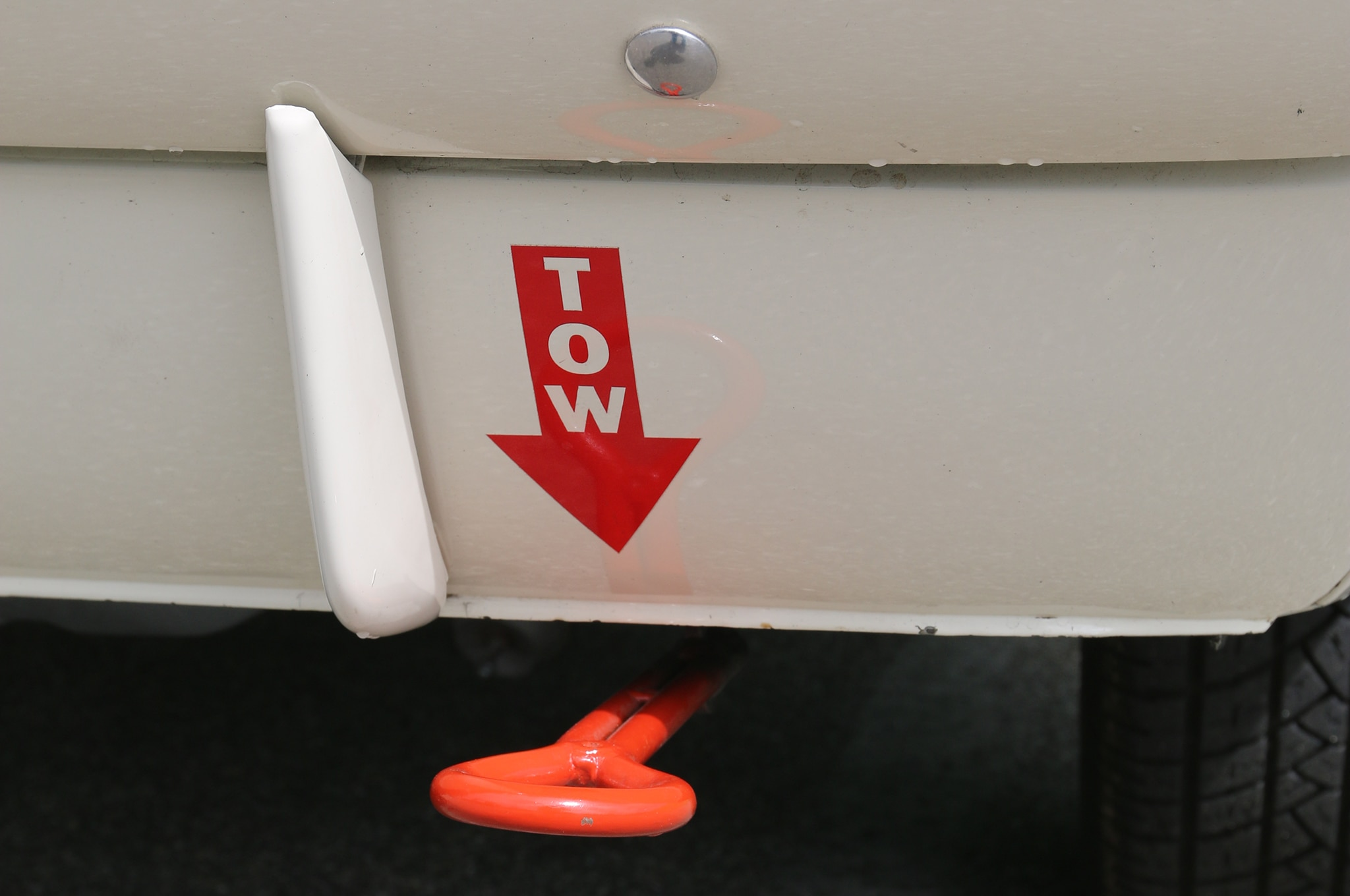 1966 Ford Mustang Tow Hitch