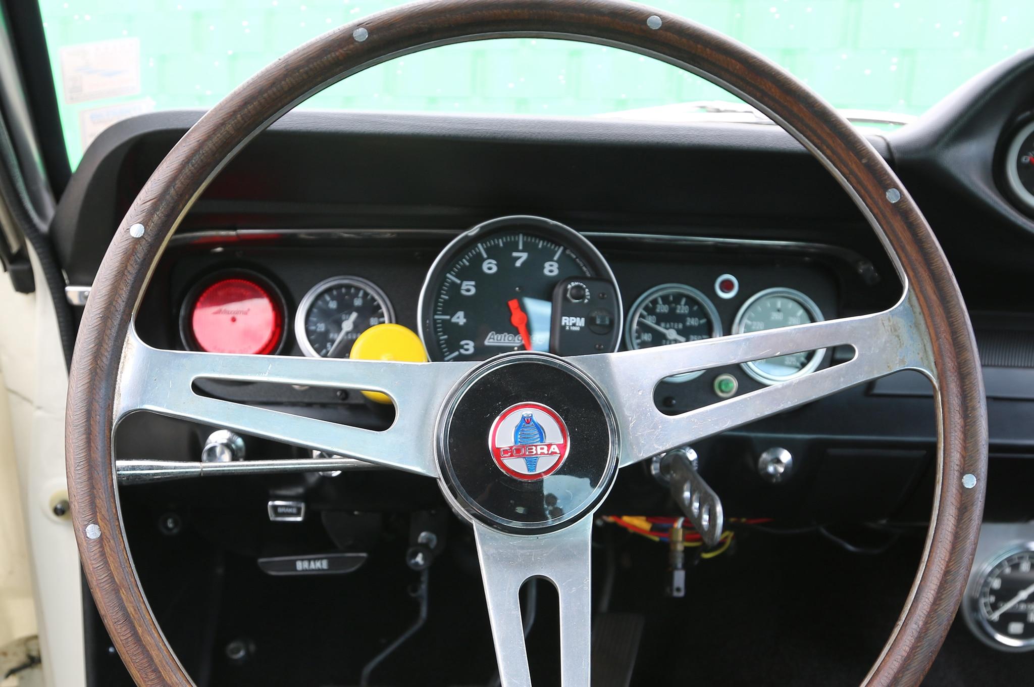 1966 Ford Mustang Steering Wheel