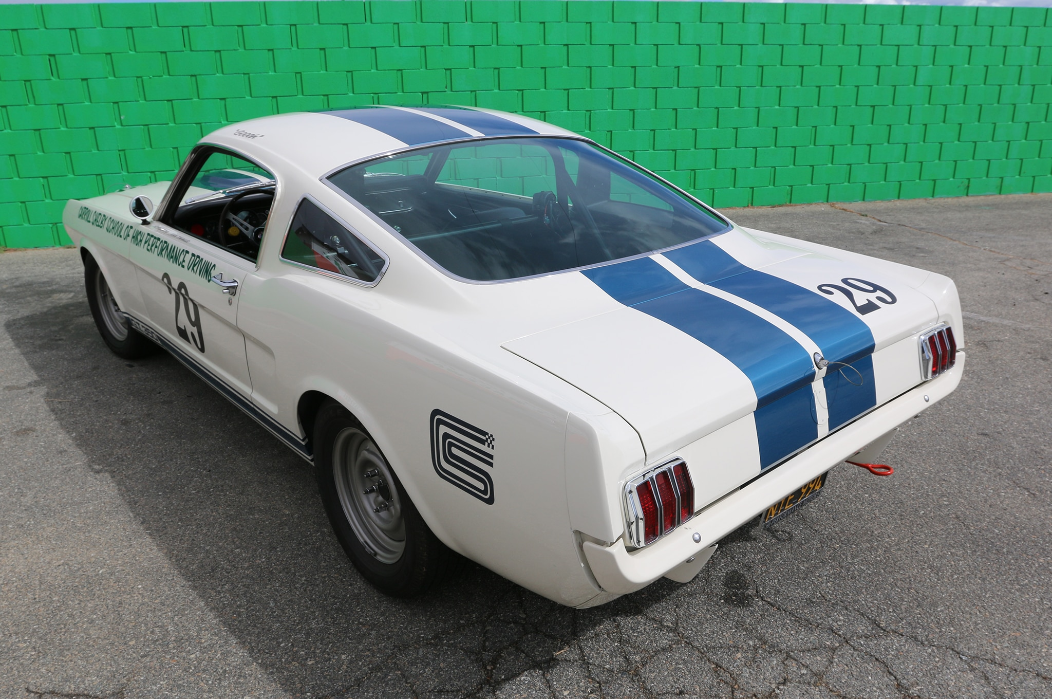 1966 Ford Mustang Rear View