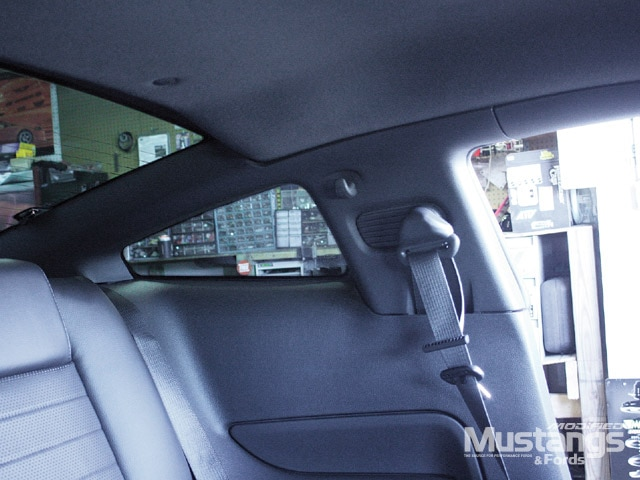 S197 Ford Mustang Rear Window