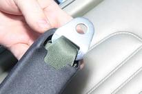 005 MORRIS CLASSIC SEAT BELTS MUSTANG