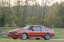 030 Orange Procharged Mustang Overalls
