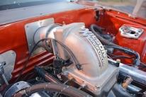 020 Orange Procharged Mustang Details