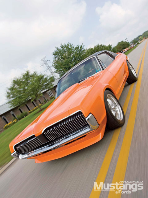 1968 Ford Cougar Xr7 Front View