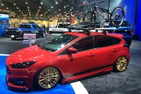 Ford Booth Sema 2015 Hot Vehicles 18 Focus St Cobb