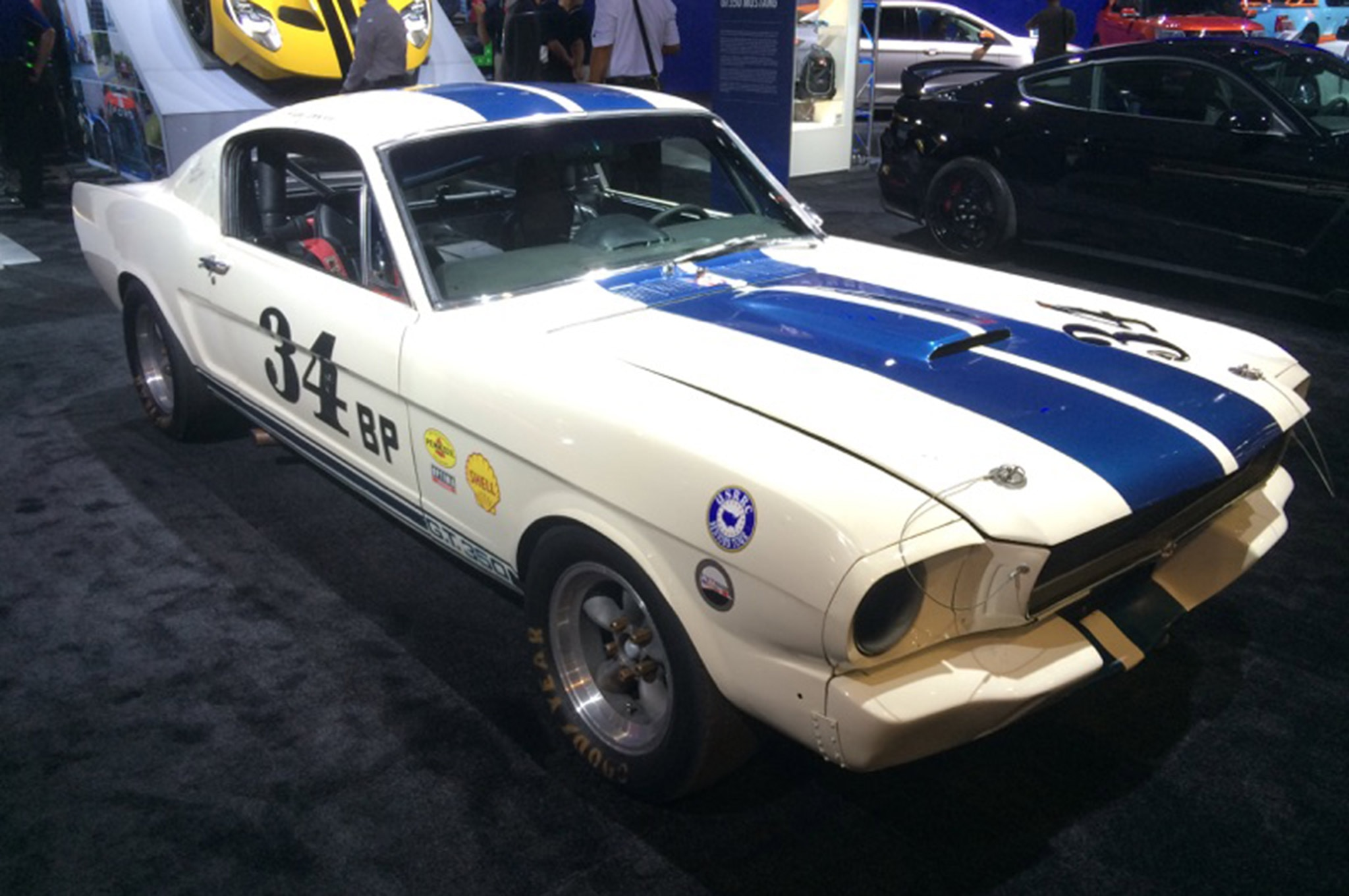 Ford Booth Sema 2015 Hot Vehicles 05 1965 Shelby