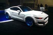 Ford Booth Sema 2015 Hot Vehicles 04 Shelby Ice Nine