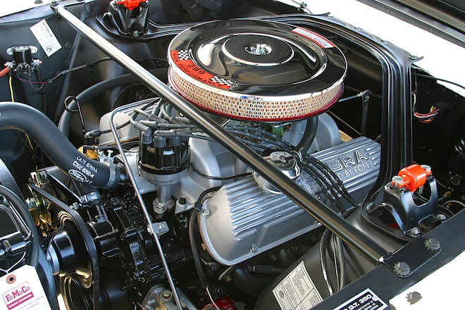 building ford's classic 289 high performance v8  mustang 360