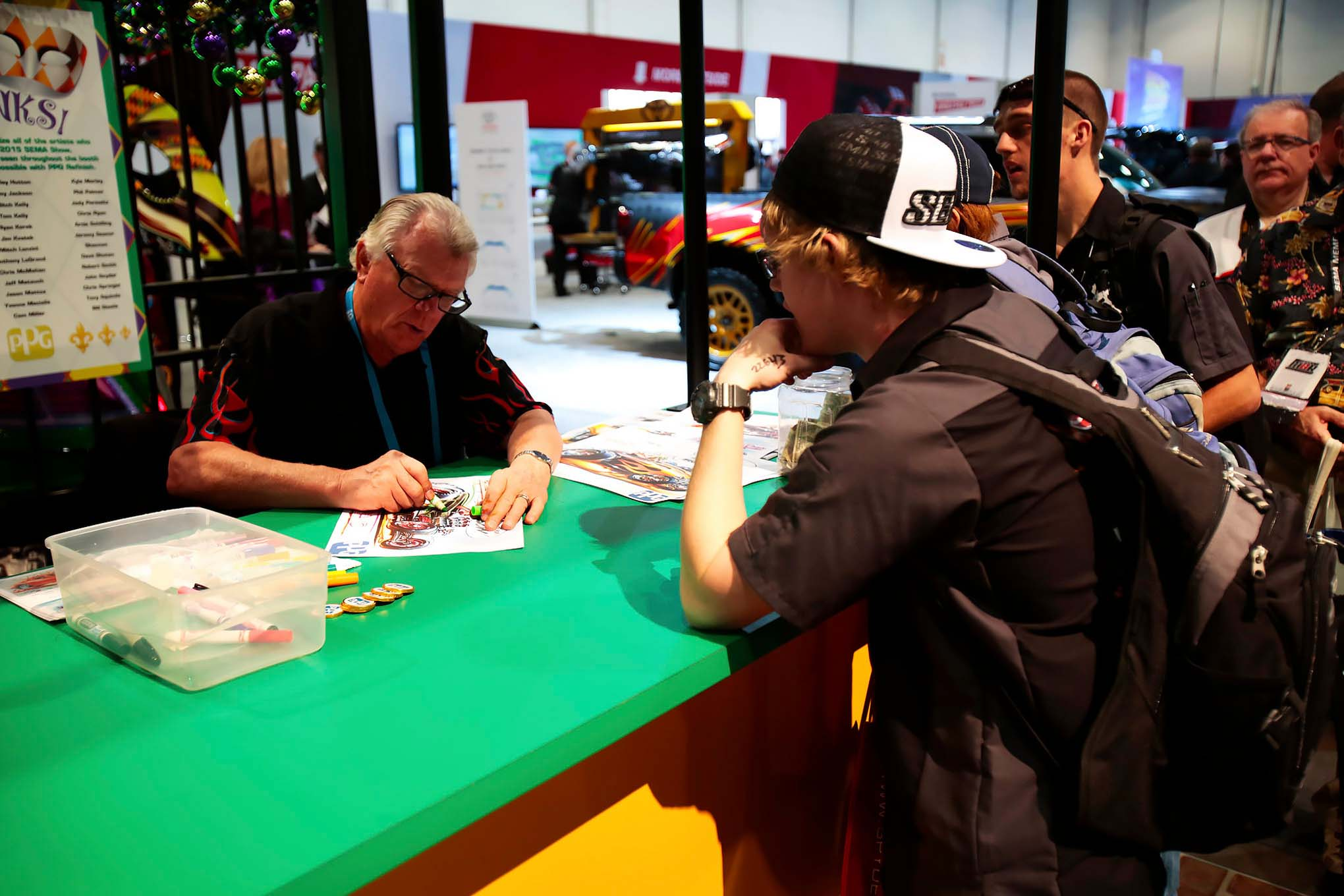 SEMA 2015 After Hours Photo Gallery 022 Lpr