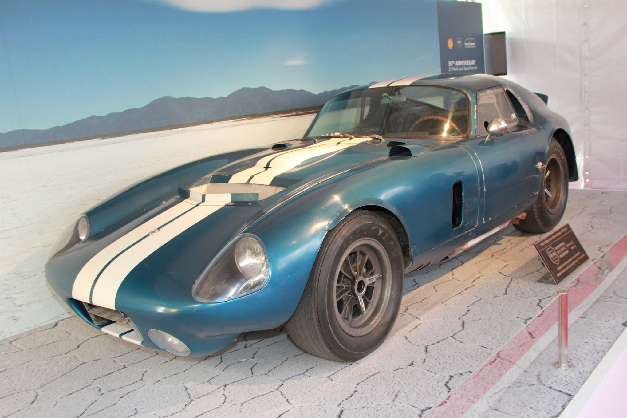 018 Shelby Daytona Coupe Lpr