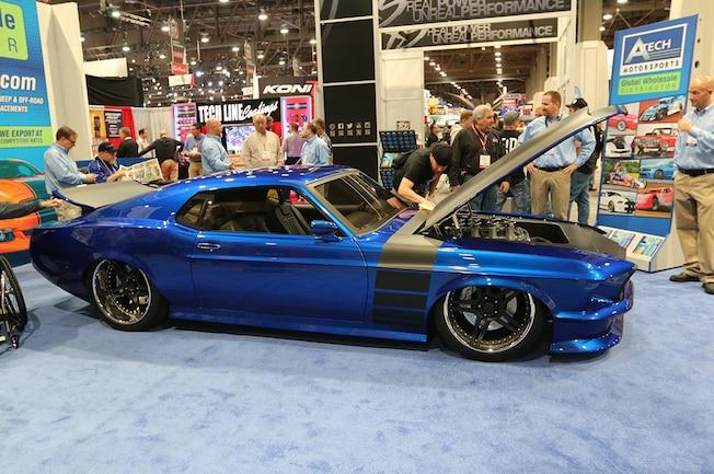 1969 Ford Mustang Gap Racing Sema 2015 01