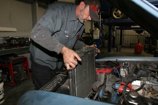 Changing Radiator