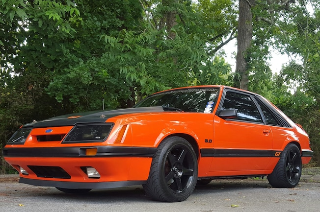 1986 Ford Mustang Gt Orange