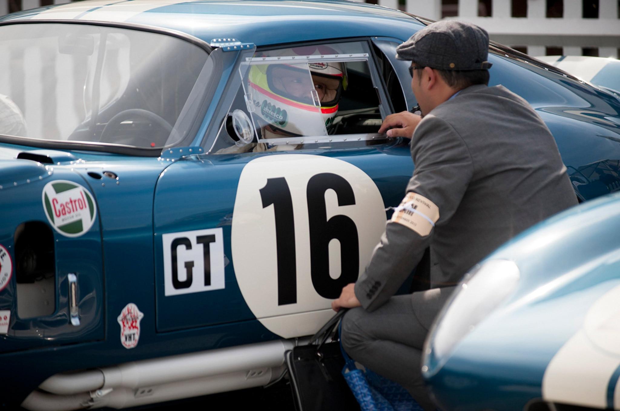 2015 Goodwood Revival Vintage Mustangs 29