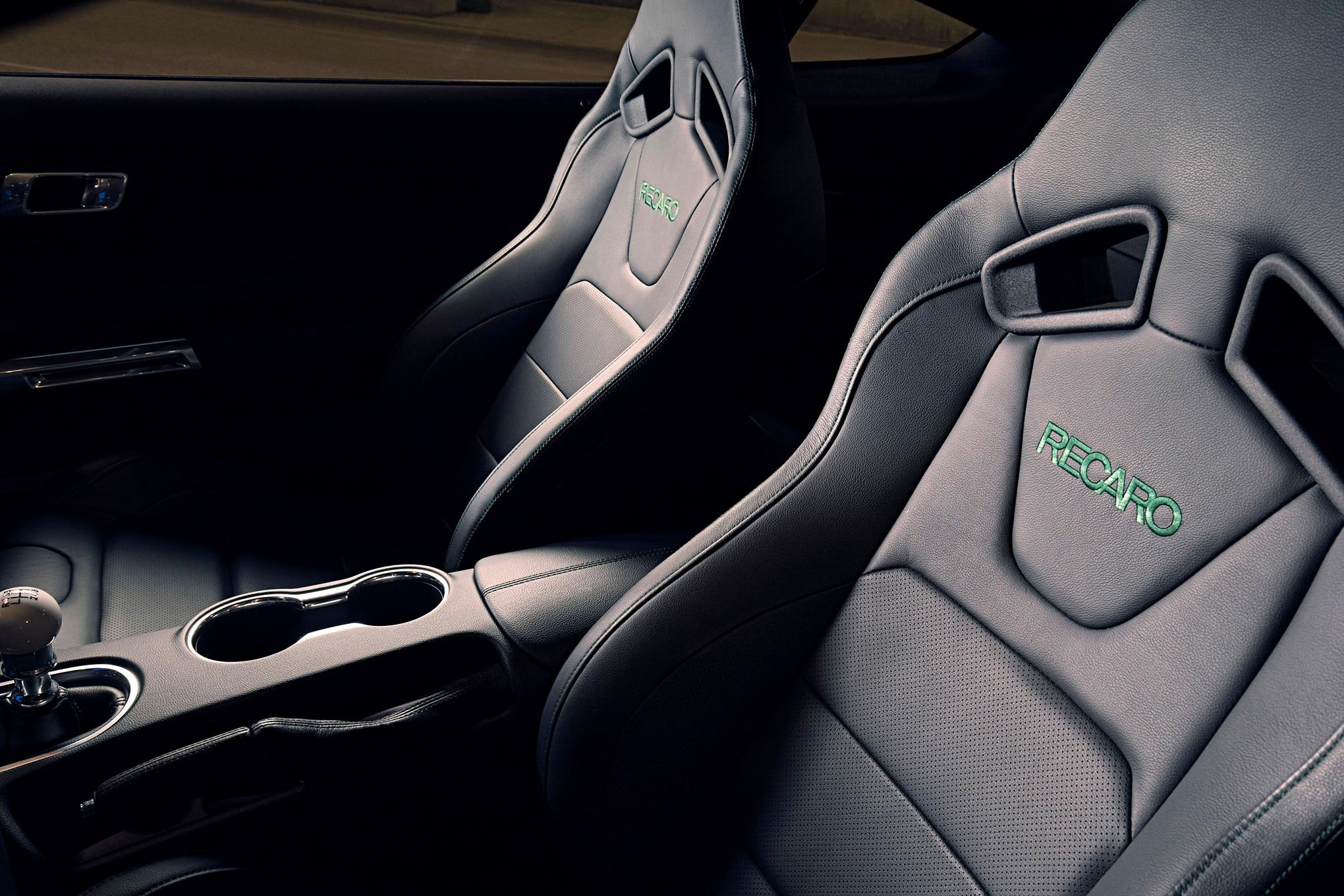 05 2019 Mustang Bullitt Optional Recaro Seats Photo 160500163 2019 Mustang Bullitt Unveiled At Naias