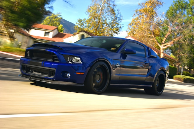 Wider Is Better And This 2014 Shelby Gt500 Is A Street Driven Beast