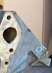 006 Detailing 428 Cobra Jet Engine